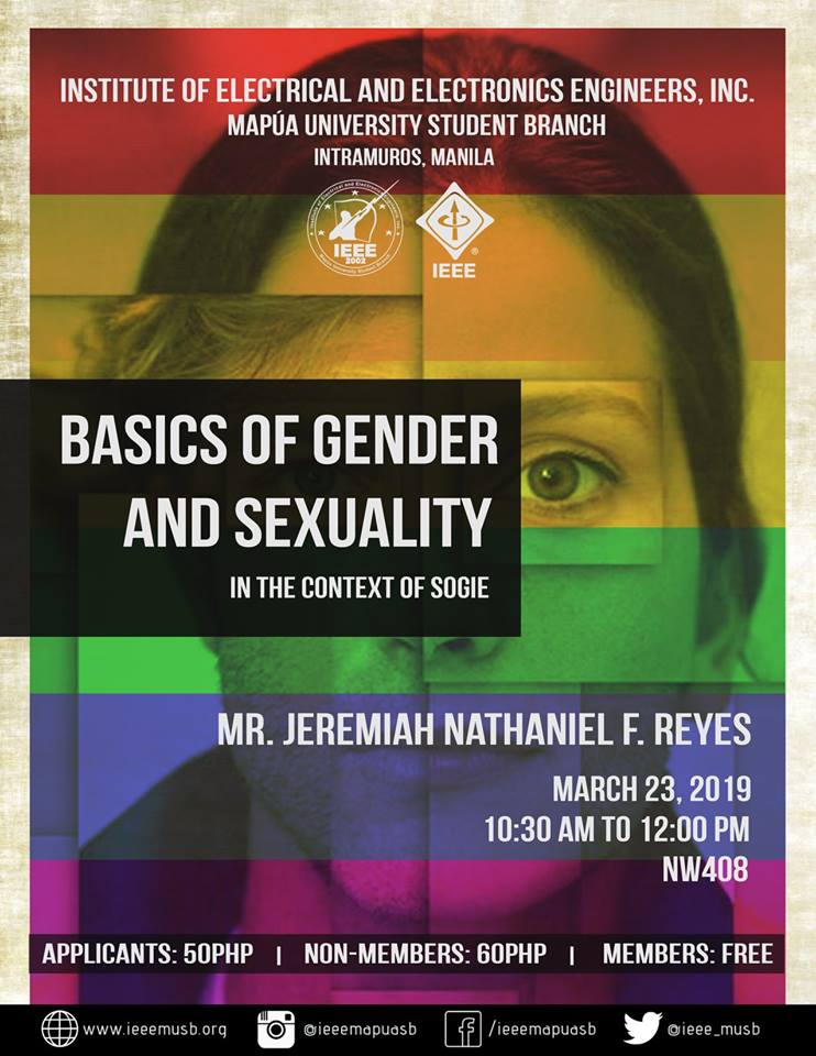 Basics of gender and sexuality in the context of SOGIE Equality