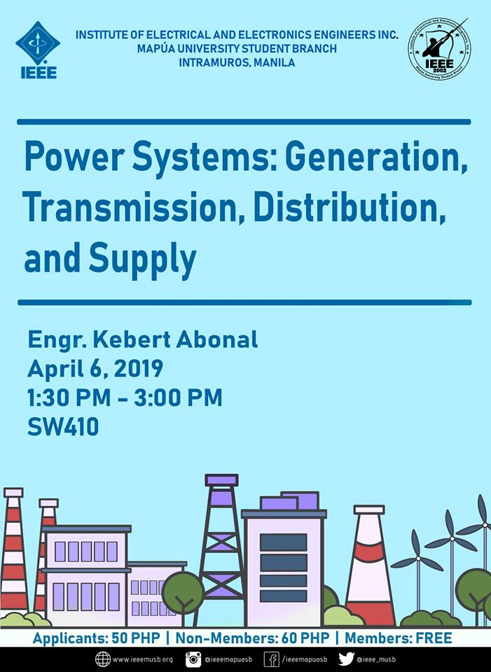 Power Systems: Generation, Transmission, Distribution, and Supply