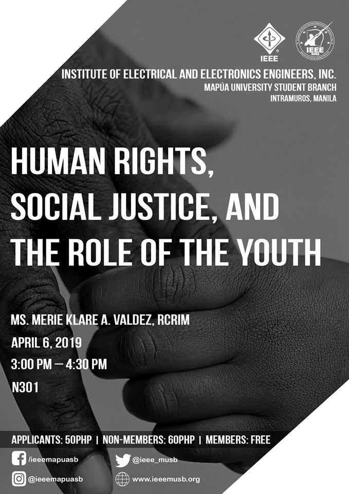 Human Rights, Social Justice, and the Role of the Youth