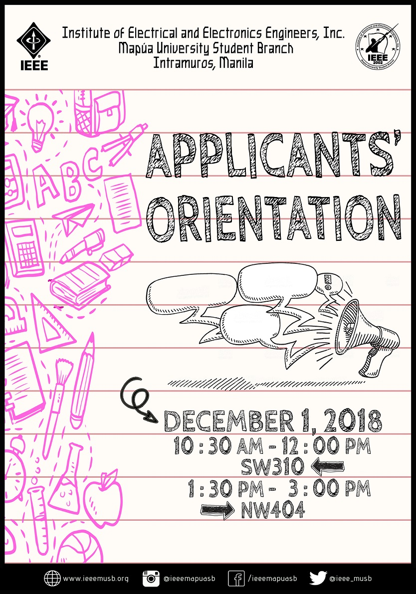 Batch 33 Applicants' Orientation