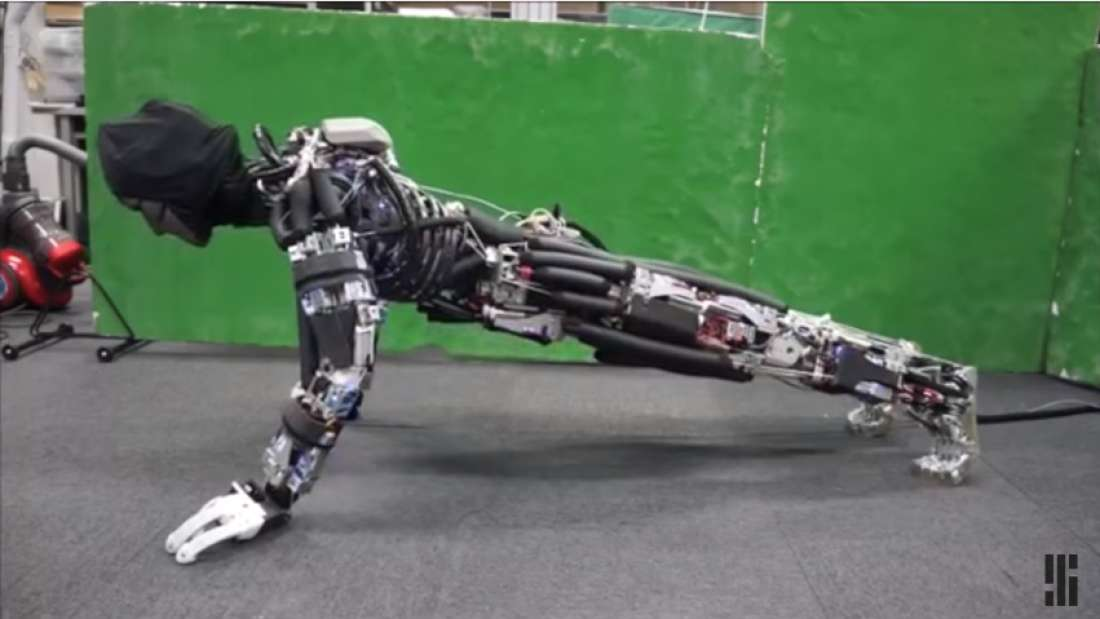 Kengoro, the Robot That Sweats